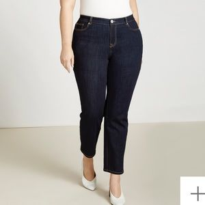 Eloquii The limited cropped jeans 14w